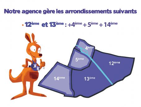 L'agence Kangourou Kids Paris 12-13